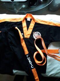 Active kids taekwondo uniform
