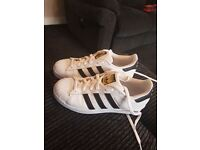 Adidas originals superstar trainers (NEW)