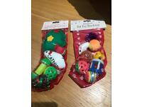 Christmas Kitty toy stocking