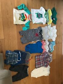 Baby boy clothes bundle 6-12 months