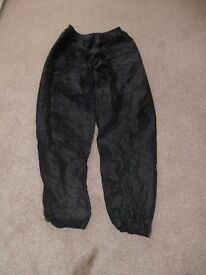 Motorcycle waterproof trousers