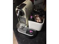 Magimix Nespresso Machine, Milk Frother and Pods
