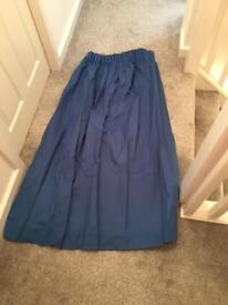 Blue black out curtains Next