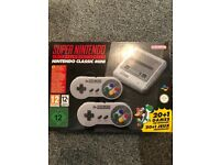 Snes mini - brand new in box