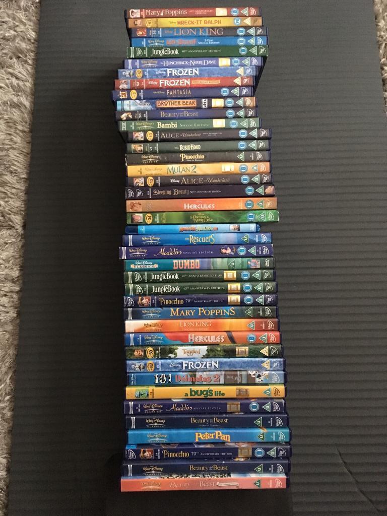 40 x DISNEY DVDS