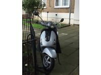 Vespa Piaggio LX125 for sale - MOT May2018, Road Tax Sept17, Fully serviced