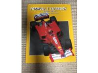 10x Formula 1 YearBooks Annuals. 1999-2008