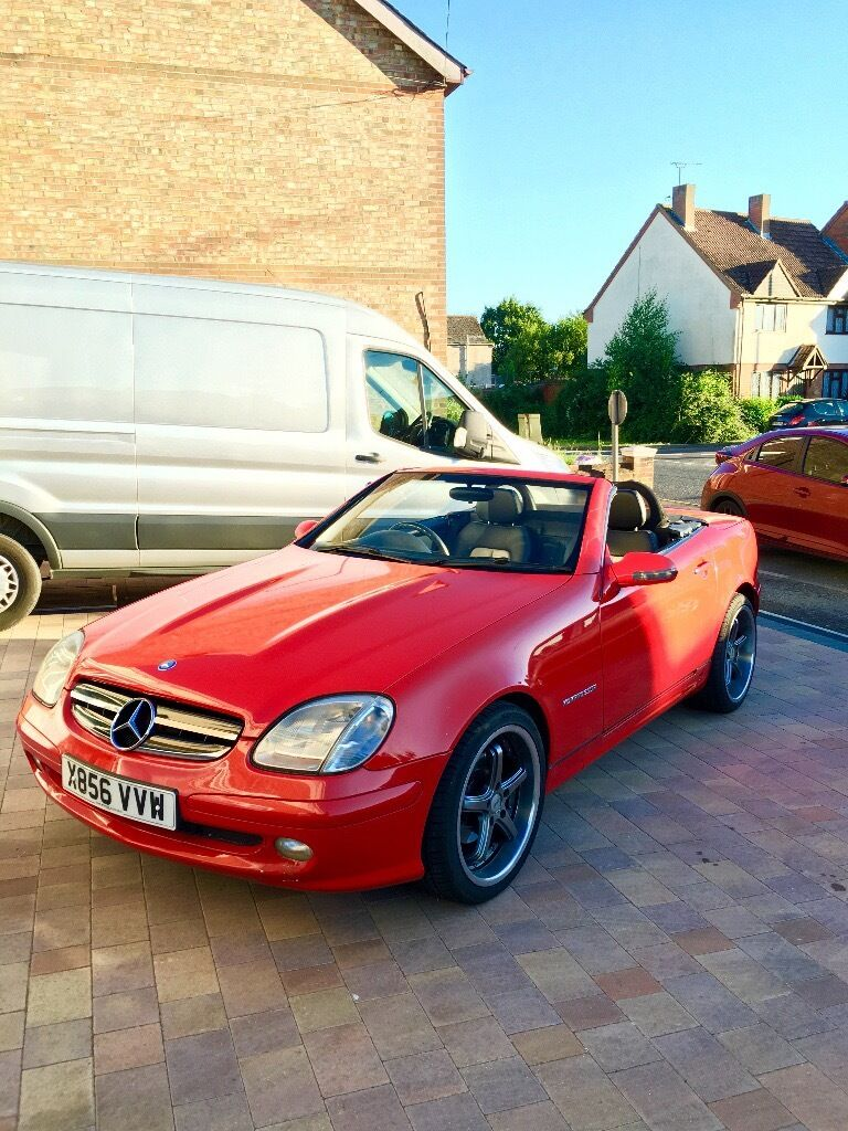 mercedes slk 230k r170 in manningtree essex gumtree. Black Bedroom Furniture Sets. Home Design Ideas