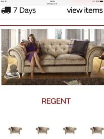 Stunning Large Regent sofa and large snug chair