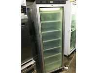 Tefcold Upright Commercial Glass Door Freezer- Very good condition