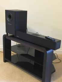 kef kht3005se. orbitsound sound bar with sub-woofer kef kht3005se