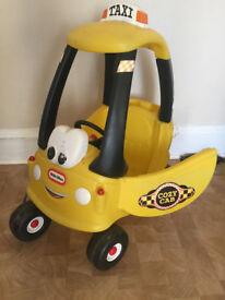 Little Tykes Taxi car