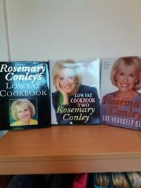 3 ROSEMARY CONLEY LOW FAT COOKBOOKS