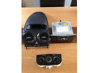 VAUXHALL CORSA D CENTRE CONSOLE STEREO DASH SURROUND 06-14