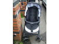 Silvercross pushchair with pram conversion and cosietoes