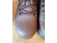 Military boots size 10. Worn a few times. Slight scuff on toe will easy polish out