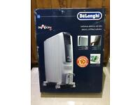 DeLonghi DRAGON 4 TRD0820E Electric Oil Filled Radiator, Digital control/timer in White, NEW in Box