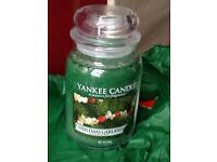 NEW LARGE YANKEE CANDLES
