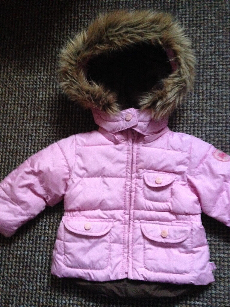 d682a3190 Baby GAP Pink Padded Winter Coat Size 12-18 Months Like New Will ...