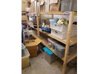 Rack shelving