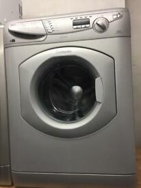 Hotpoint silver good looking 7kg 1200spin washing machine