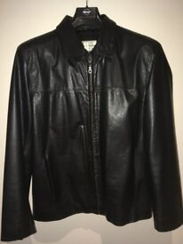 38-40 Leather jacket for man
