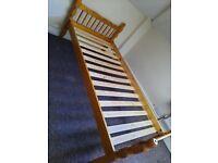 Single bed no mattress