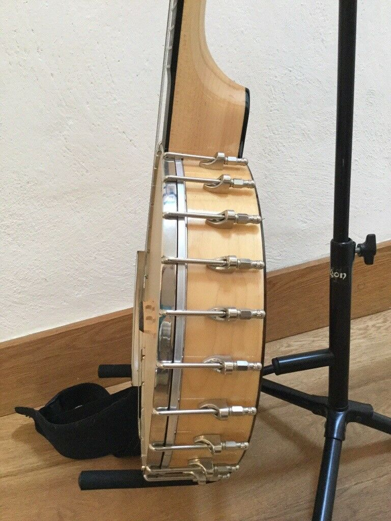 Superb condition Goldtone Bob Carlin 350 5 string open back Banjo  Price  reduced to £485 New is £862 | in Usk, Monmouthshire | Gumtree