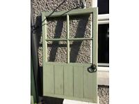 Display,wooden small door