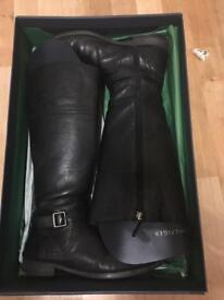 Tommy Hilfiger leather boots size 6