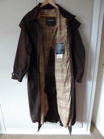 Barbour Brown Stockman Coat