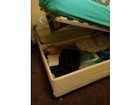 storage bed and matress