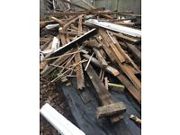 Unwanted timber / firewood for collection Finchley, North London