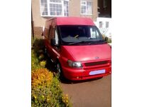 A chance to own this Fantastic Red Ford Transit Camper van