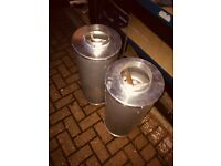 """Cheshunt Hydroponics Store - used 6"""" Phresh in-line carbon filter"""