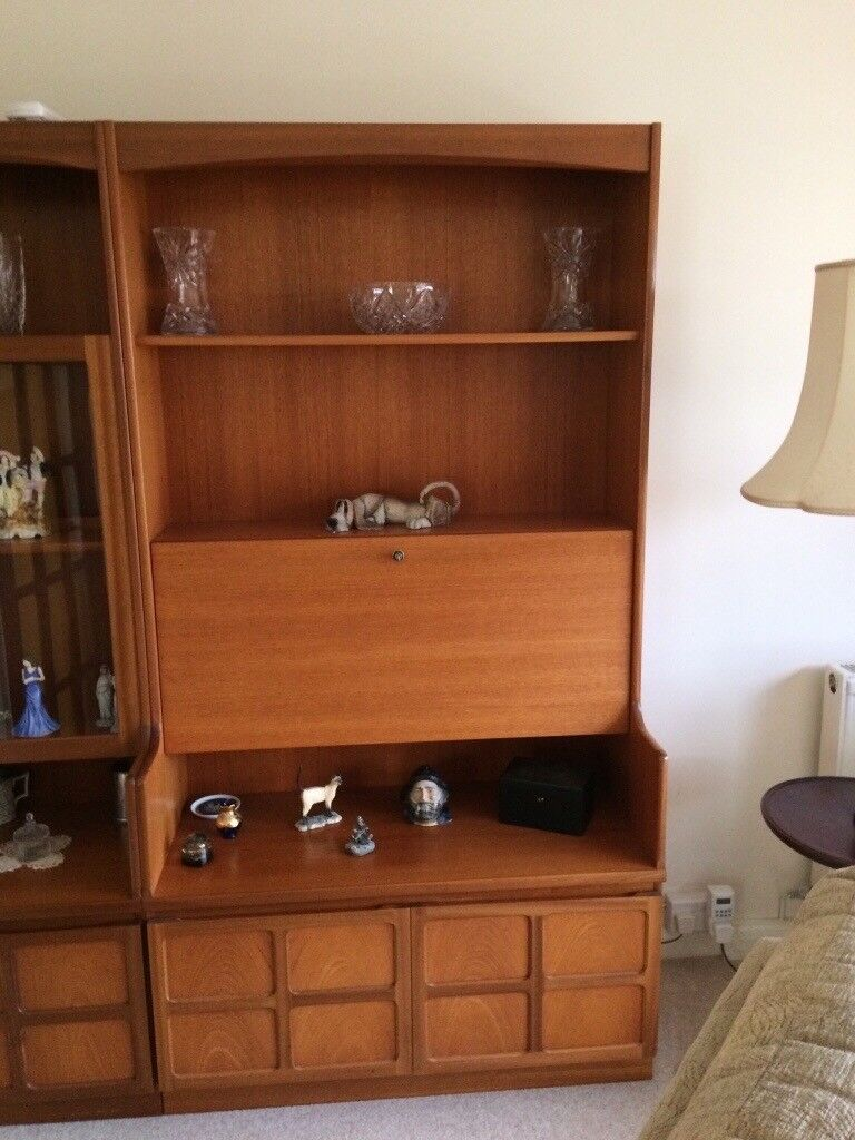Nathan Furniture Display Cabinet And Sideboard In