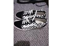 Vans trainers size 8