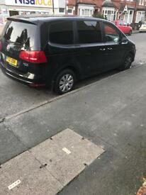 vw sharan Auto 2.0tdi bluemotion 7 seater low miles