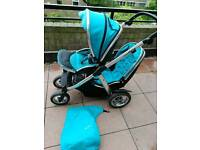 Oyster max double pushchair CAN POST UK MAINLAND ONLY