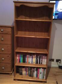 Richmond Pine 4 Shelf Bookcase - Must Go Soon!