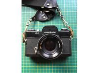 Voigtlander VSL 1 & 50mm 1.8 lens