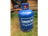 Brand new FULL 15kg Butane Calor Gas Bottle