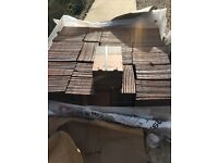 10m2 NEW Marley Clay Plain Hawkins Roof Tiles Fired Sienna