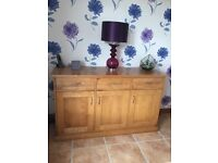 Solid Oak Sideboard from NEXT for sale