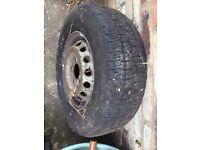 "Mercedes 311 Vw lt35 pre 2006 15"" wheels"