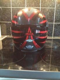 Motobike helmet