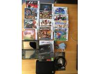 As New Boxed 3DS XL 'New' , 13 Games, Chargers,Case, Cover,etc