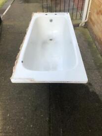 Enamel bath