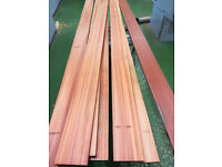 7 planks of BLOODWOOD to make guitars