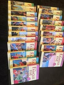 Complete set of famous five books